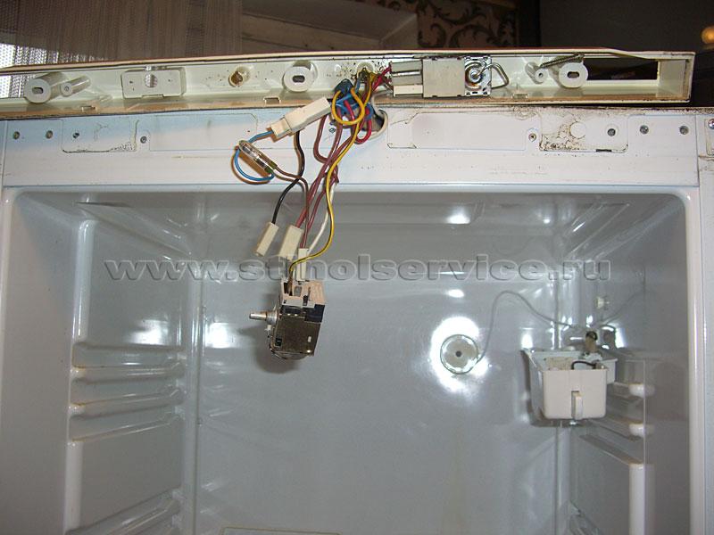 Замена термостата в холодильнике атлант своими руками 85