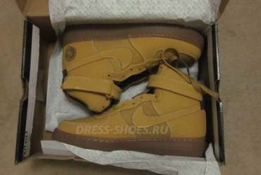 nike air force коричневые brown