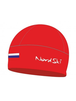 Шапка NordSki Active Red Rus