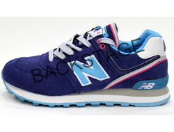 Женские кроссовки New Balance 574 Encap Navy Blue