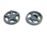 Wheel Cover 5 Spoke - for Wheel 18976, Flat Silver (18978a / 6107391)