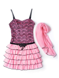 Платье с палантином артикул: 87255