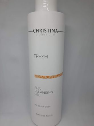 fresh AHA cleansing gel 300ml