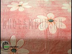 Плед из бамбука Soft Line 1,5 Брусничные цветочки