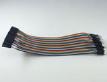 Соединительные провода папа-мама 20 см (комплект 40 шт.)