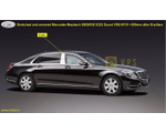 Various luxury elongated and armored limousines based on Mercedes-Maybach S560 4Matic, S650 and S650 X222 Guard VR9, VR10 (with integrated special protection from MB Guard), 2017-2019 YP