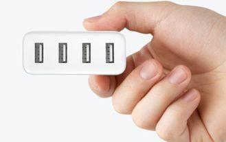 Четырехпортовое зарядное устройство Xiaomi 4 USB charger