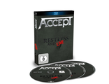 ACCEPT Restless and live Blu-Ray + 2-CD