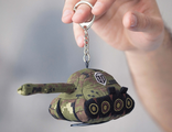 Брелок-танк World of Tanks Green Khaki