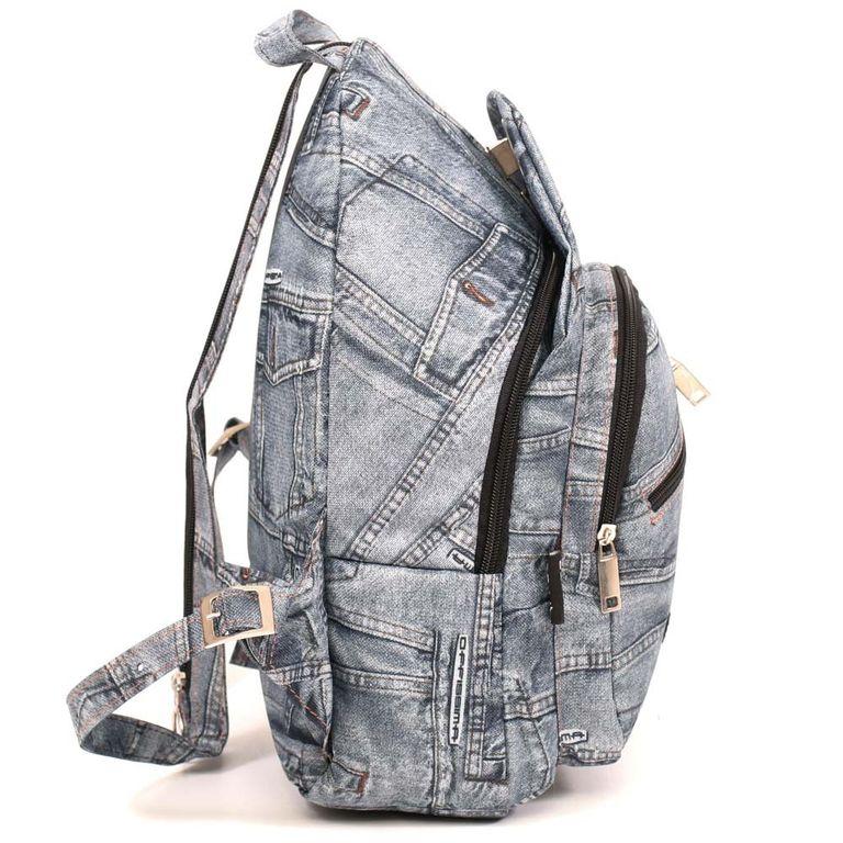63305827cf69 Купить городской рюкзак   Рюкзак молодежный джинсовый - Городские ...