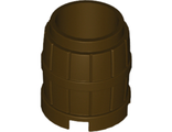 Container, Barrel 2 x 2 x 2, Dark Brown (2489 / 4536677)