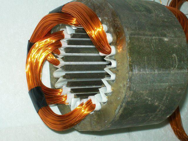 Перемотать электродвигатель