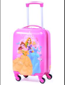 Детский чемодан на 4 колесах Принцессы Дисней / Disney Princess (Три 3 принцессы) - 2