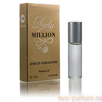 "Масляные духи, Paco Rabanne ""Lady Million"", 7 ml"