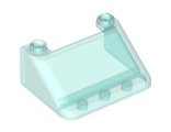 Windscreen 3 x 4 x 1 1/3 Large Glass Surface, Trans-Light Blue (57783 / 4498374 / 6247360)