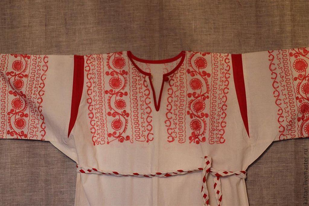 Как сшить славянскую рубаху своими руками 28