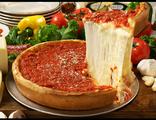 Чикаго- стайл пицца с курицей гриль (нажмите на пиццу и выберите вес)