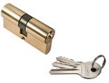 Ключевой цилиндр RUCETTI ключ/ключ (60 мм) R60C PG Цвет Золото