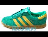 Кеды Adidas Hamburg зеленые