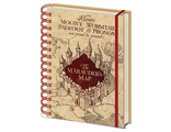 Ежедневник Pyramid: Harry Potter (The Marauders Map) A5 Wiro Notebooks