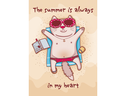 D0336 Summer in my heart