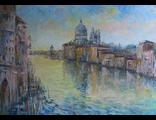 "Круглова Светлана. ""Венеция"",  холст / масло,  50 х 70 см.,  2016 г."