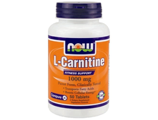 NOW Carnitine Tartrate 1000 mg (50 табл.)