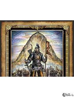 Казахские герои, батыры и джигиты