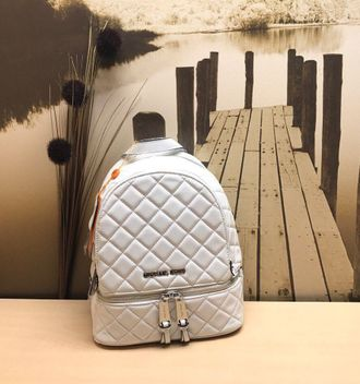 Рюкзак Michael Kors Rhea Quilted Medium White / Белый