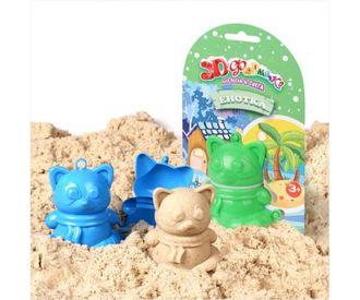 """3D формочка для песка и снега """"Енотка"""""""