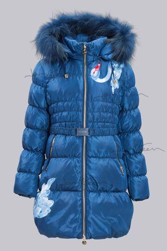 Пальто для девочек, пух A15503 STEEN AGE