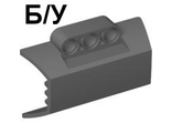 ! Б/У - Technic, Panel Engine Block Half / Side Intake, Dark Bluish Gray (61069 / 4518854) - Б/У