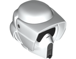 Large Figure Head Modified SW Scout Trooper Helmet Pattern, White (bb0788c01pb01 / 6182299)