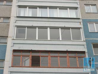 Остекление балконов/лоджий холодное - остекление лоджии 5,6х.