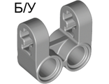 ! Б/У - Technic, Axle and Pin Connector Perpendicular Double Split, Light Bluish Gray (41678 / 4211889) - Б/У