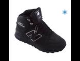 New Balance 1300 с мехом высокие унисекс кожаные (37-46)