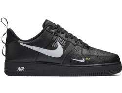 Nike Air Force 1 '07 LV8 Utility Black/Tour Yellow мужские  (40-45)