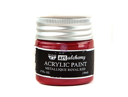 ART ALCHEMY-ACRYLIC PAINT-METALLIQUE BOURDON 1.7
