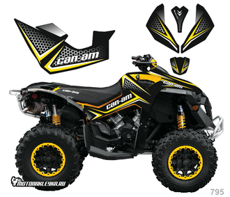 Can-am BPR Renegade #795