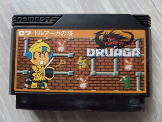 The Tower of Druaga для Famicom Денди (Япония)