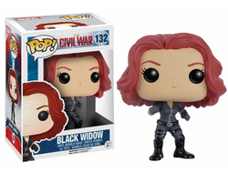 Funko Pop! Civil War: Black Widow