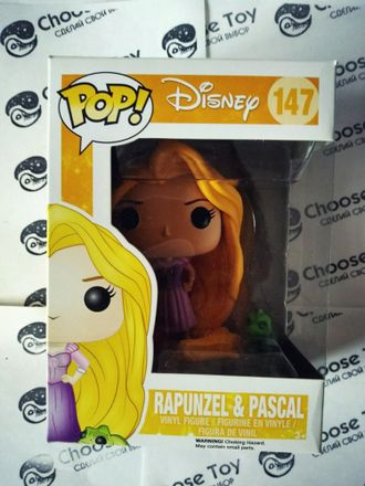Funko POP! DISNEY Rapunzel and  Pascal #147 - Коллекционная фигурка Фанко ПОП!  Рапуцель и Паскаль #147