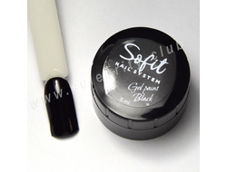 Гель-краска Sofit Gel paint Black 5ml