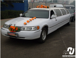 Lincoln Town Car (белый) 9 мест