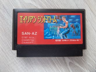 Alien Syndrome для Famicom Денди (Япония)