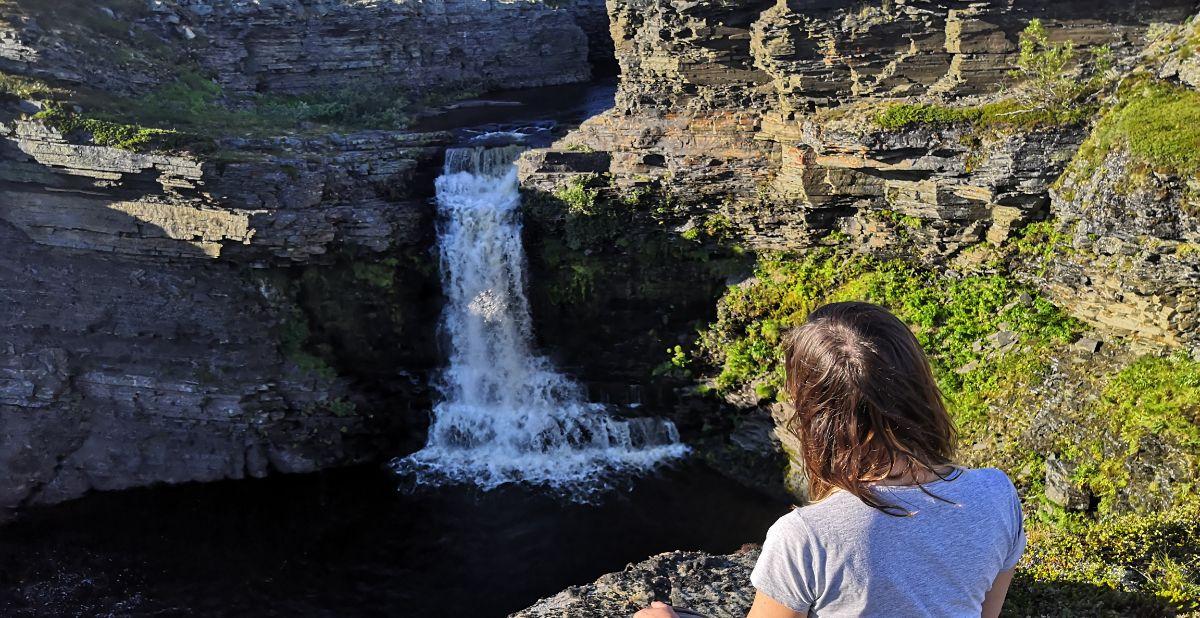 Водопад Рыбачий