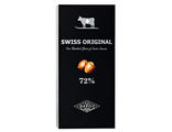 Шоколад SWISS ORIGINAL Горький шоколад с цельным фундуком 72% (Швейцария), 100 гр.