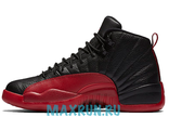 "Air Jordan 12 Retro ""Flu Game"" Black/Red"