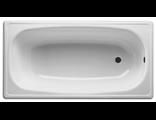 Ванна LAGUNA стальная эмалированная без сифона с ножками белая, с рантом (170*70*36 см)