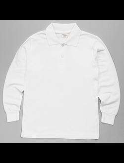 Рубашка-поло (белый) | арт.36735